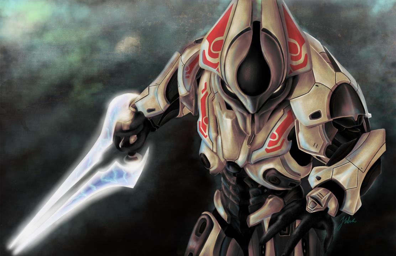 Halo Elite by jouoloioa on DeviantArt
