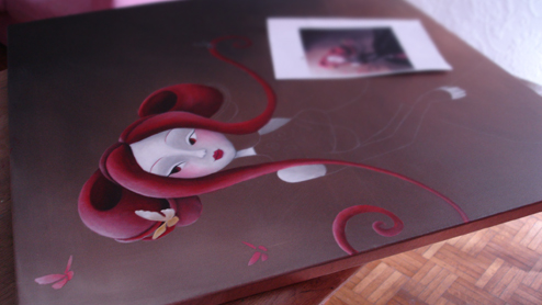 Small preview of Miss papillon by SybileArt