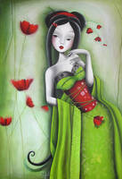 Miss coquelicot by SybileArt