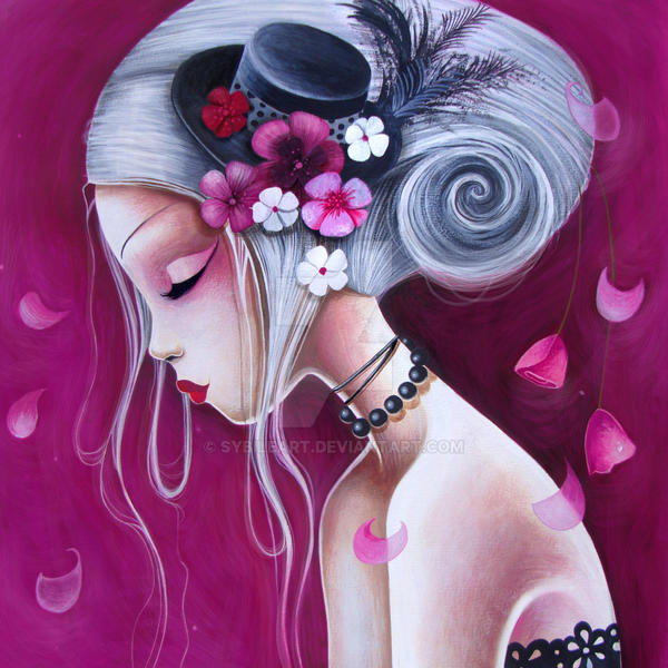 Le chapeau fleuri by LadySybile