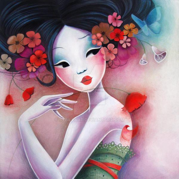 Fancy Flowers by LadySybile