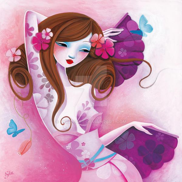La danse des papillons by LadySybile
