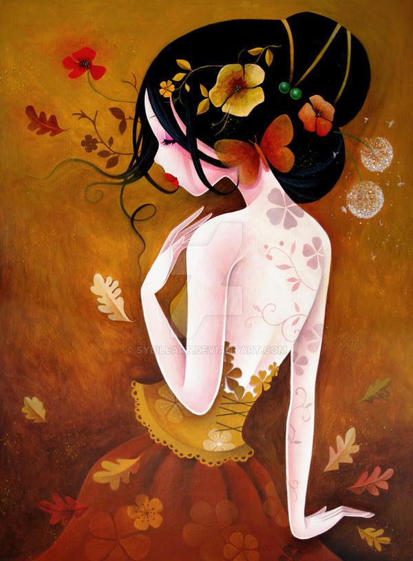 Le papillon de cuivre by SybileArt
