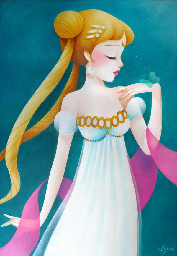 Princess Serenity by LadySybile