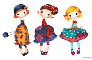 Daisy, Cherry and Betty