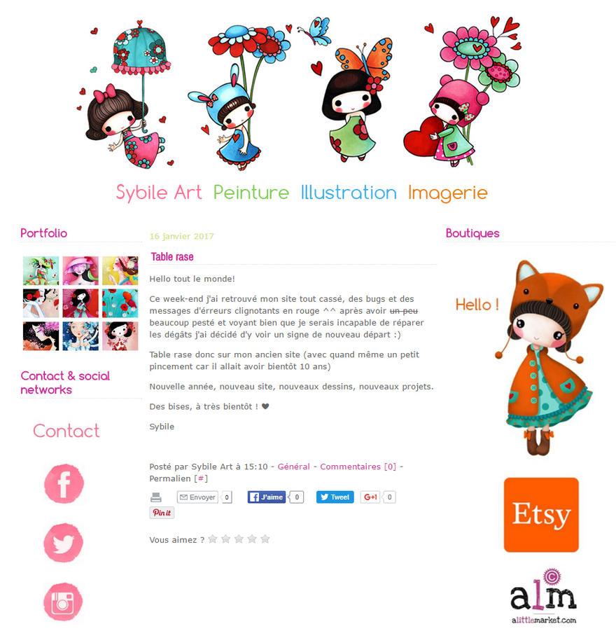 New Website by SybileArt