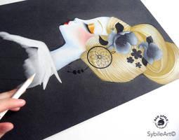 Dreamcatcher wip by SybileArt