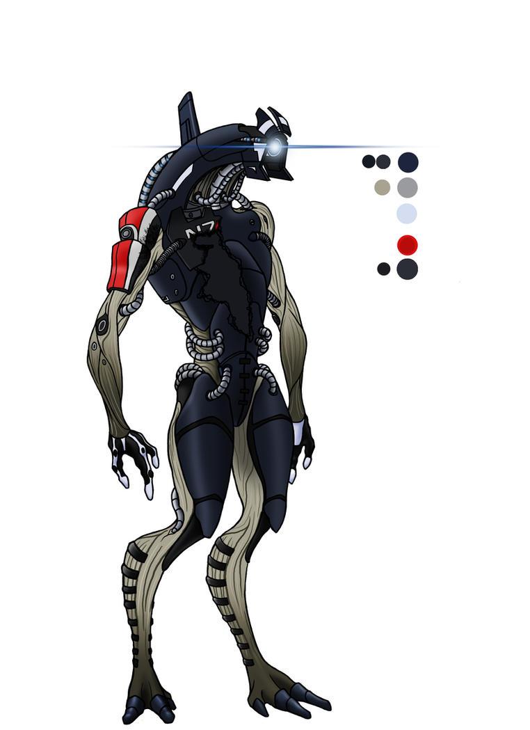 Legion Mass Effect 2 By Azint On Deviantart