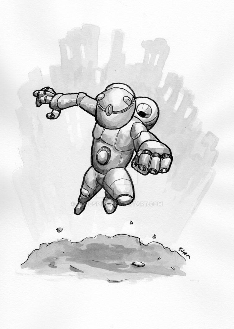 Robot 131 by RoboSpike