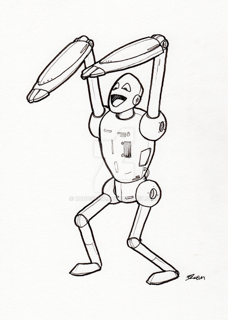 Robot 284 by RoboSpike