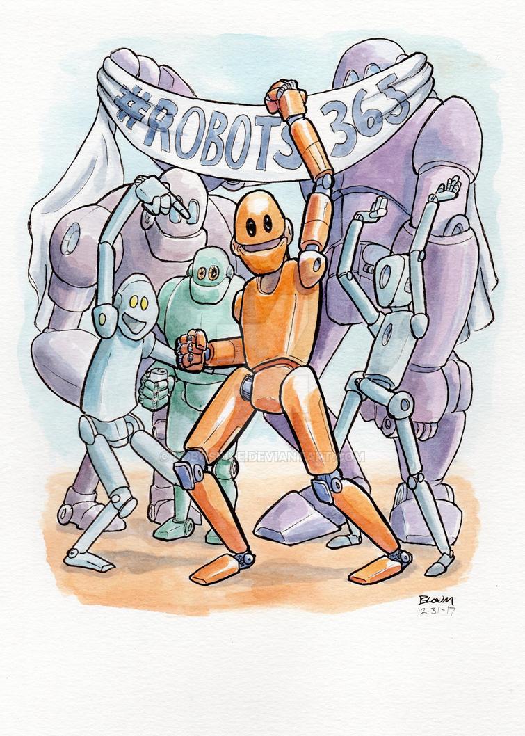 Robot 365 by RoboSpike