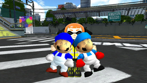 Agent Orange Hugs SMG4 and Geofcraze634