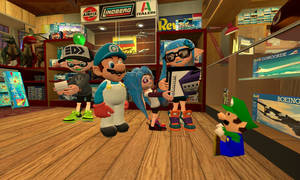 At the Toy Store (Splatoon GMOD)