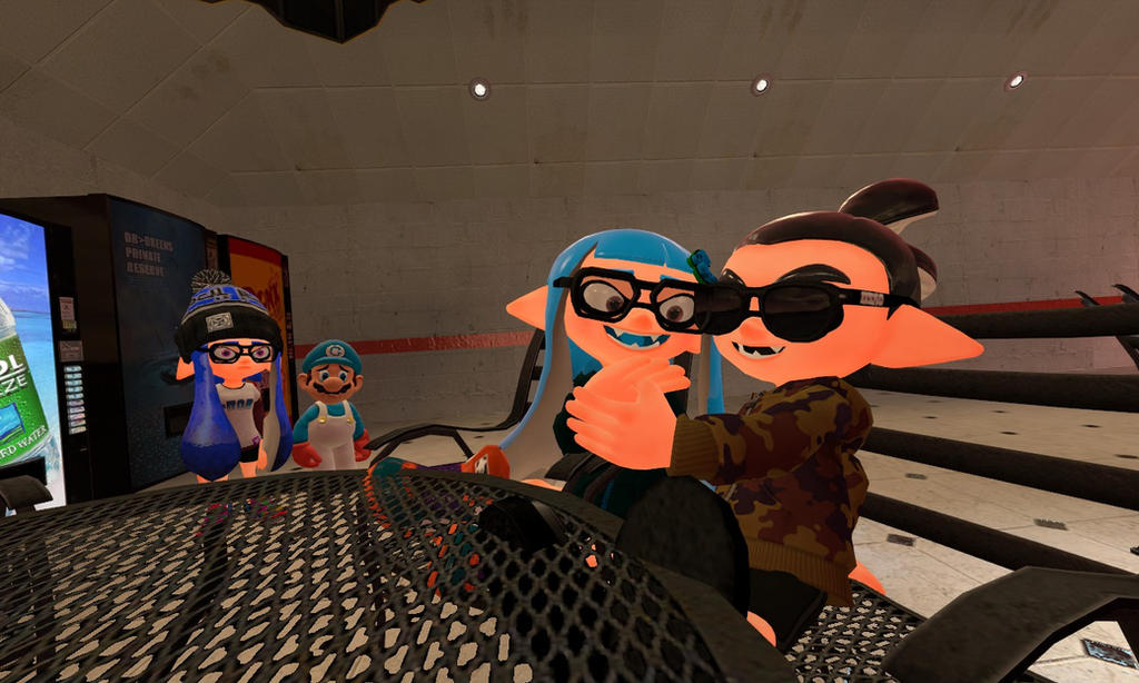 Georgia's New Boyfriend (Splatoon GMOD) by Geoffman275