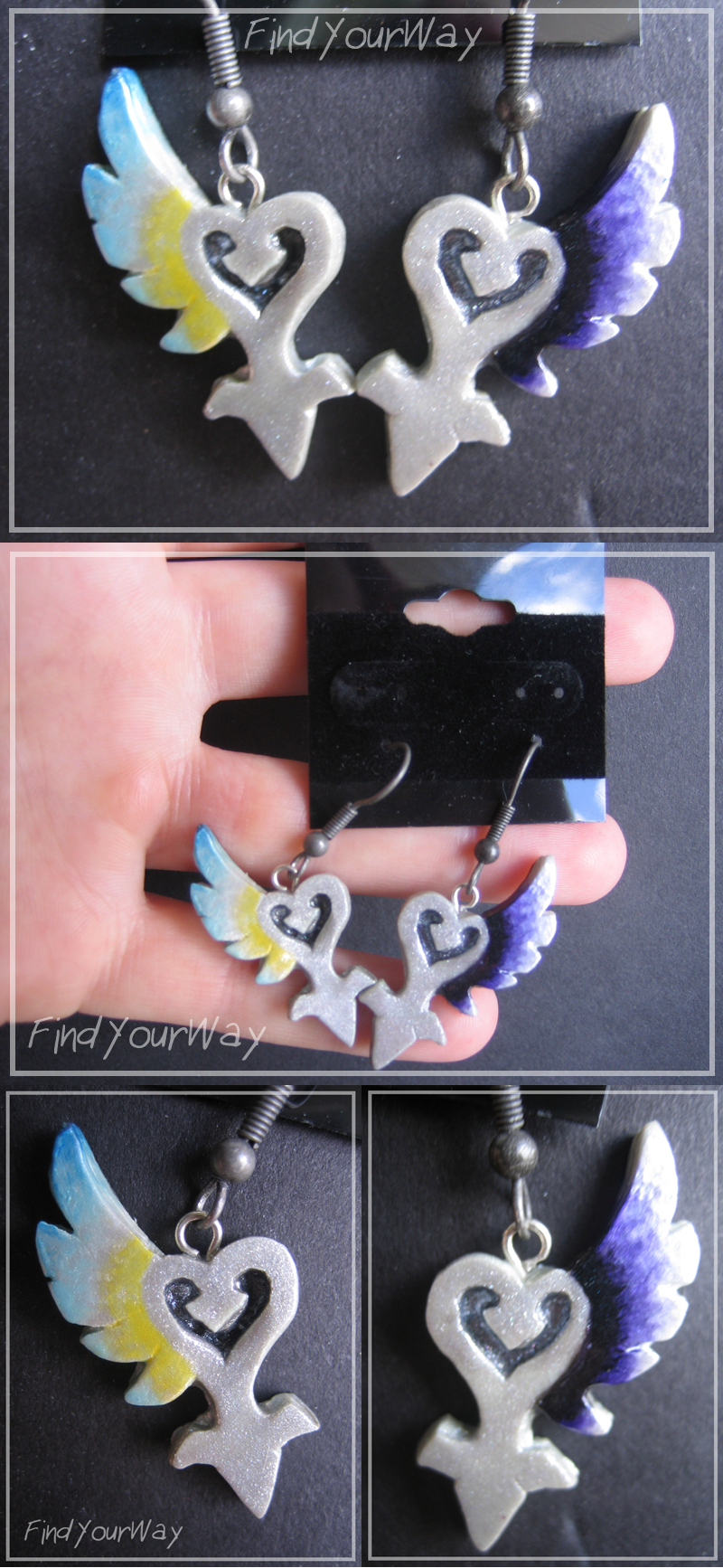 Nightmare's End Reality Shift Earrings by hikarisama