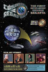 Cosmic Regatta Poster