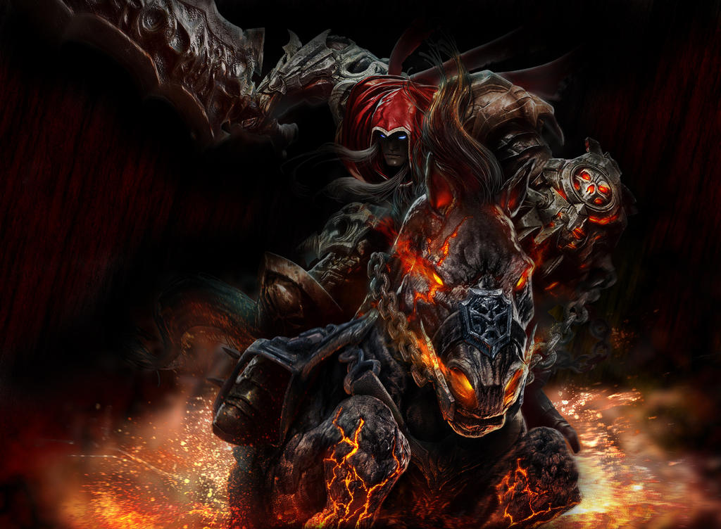 Darksiders War Wallpaper By: War From Darksiders By Chamillitarysk8r On DeviantArt