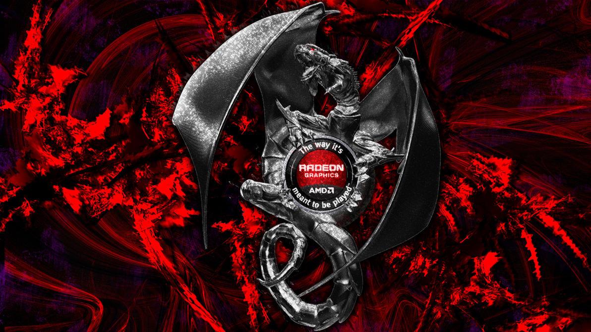 AMD Dragon Platform TWIMTBP By Chamillitarysk8r On DeviantArt