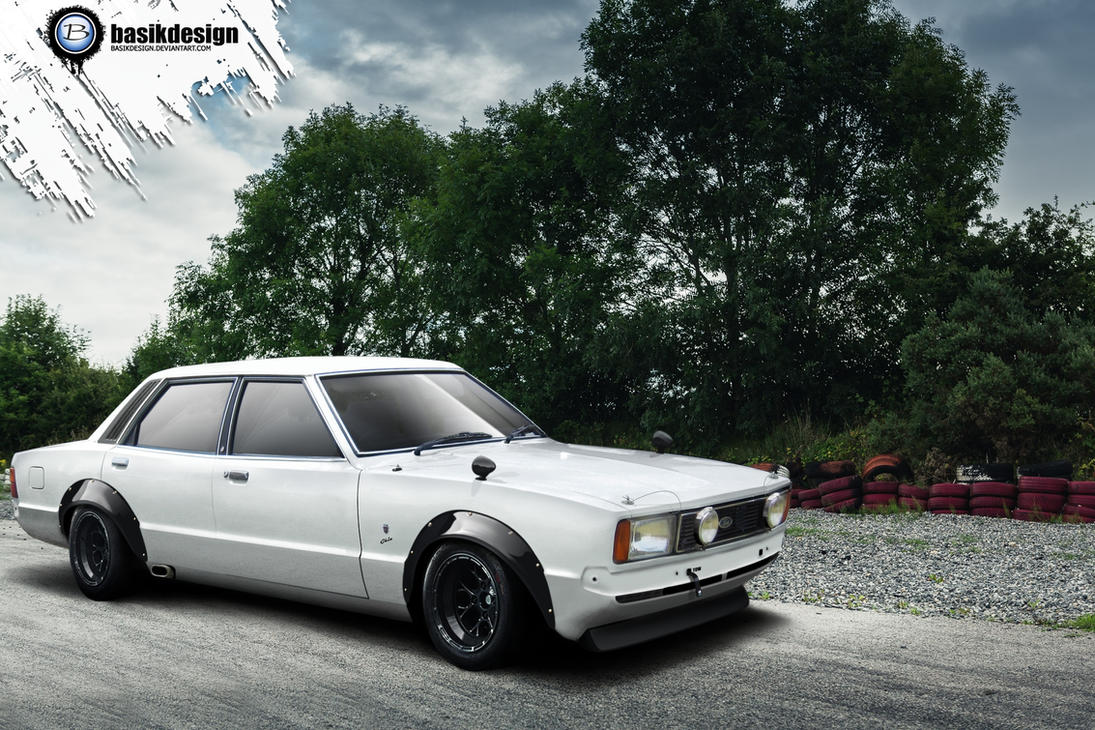Ford Cortina Mk4 by basikdesign
