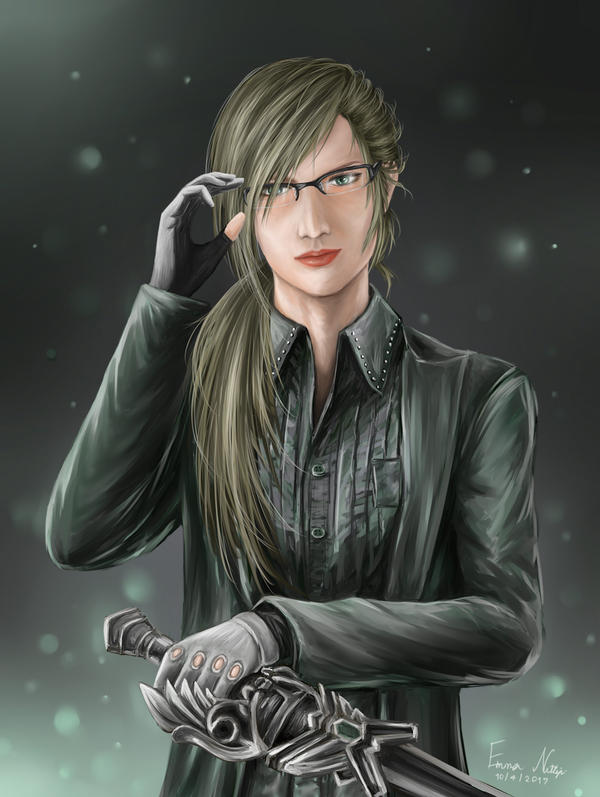 Ignis (Female version) from Final Fantasy XV by EmmaNettip