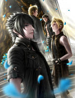 Final Fantasy XV by EmmaNettip