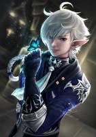 Alphinaud (Final Fantasy XIV) by EmmaNettip