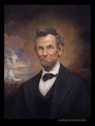 Abraham Lincoln by PaulTajsl