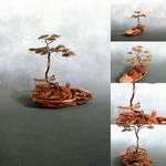 Copper Bonsai