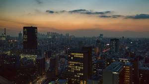 Japan Yuyake Metropolis by stephane-bdc