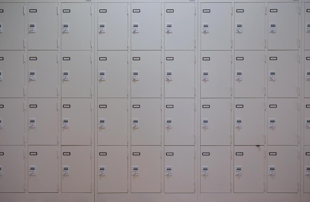 Japanese Art school coin lockers by stephane-bdc