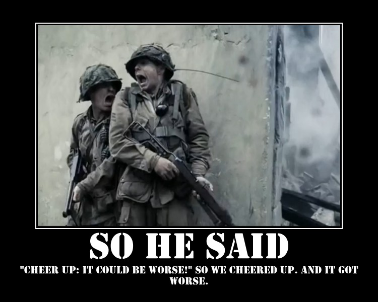 Band of Bros Demotivator 5 by ZombieKiller1357