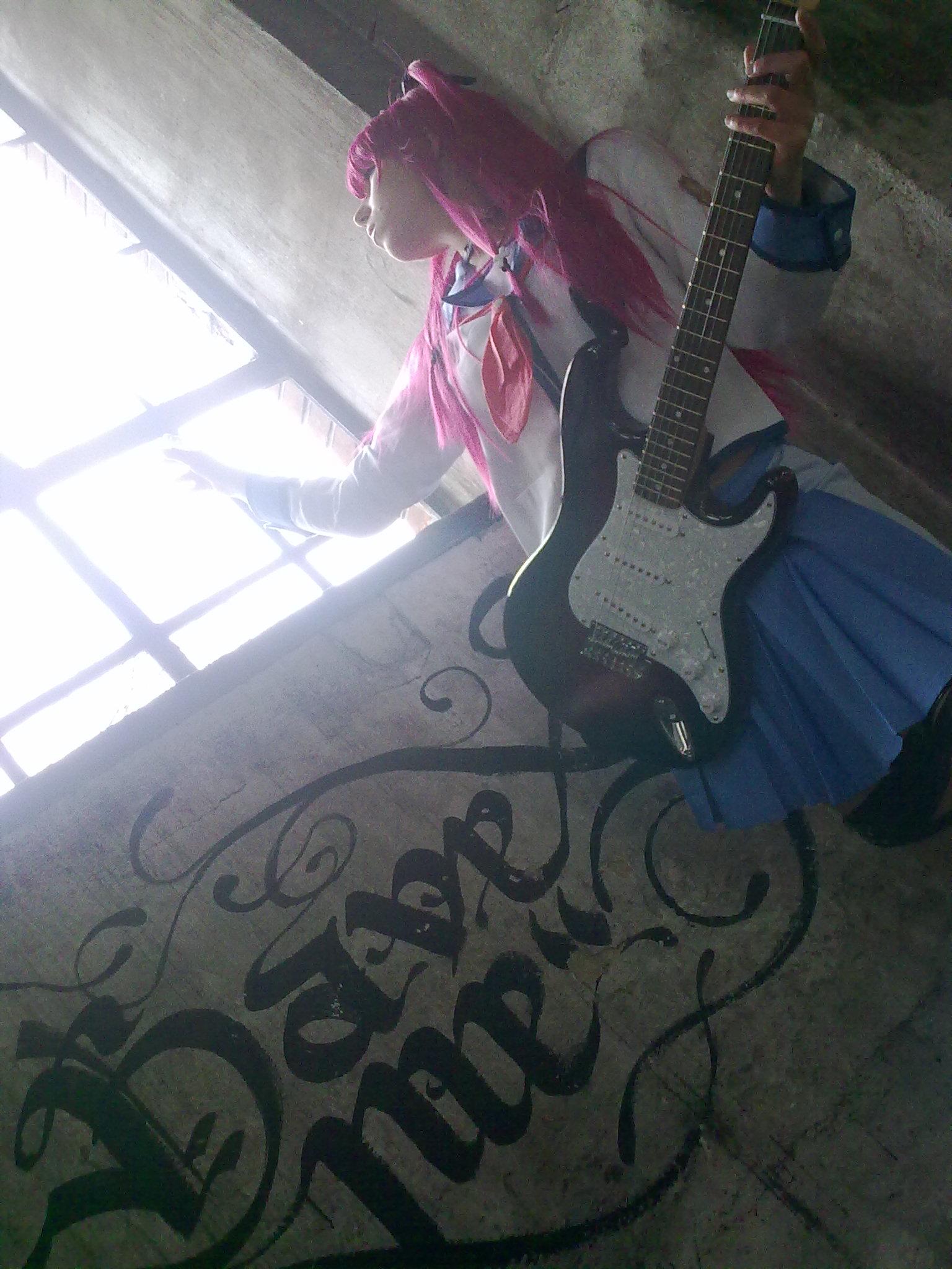 Angel Beats! Yui Cosplay by K-I-M-I