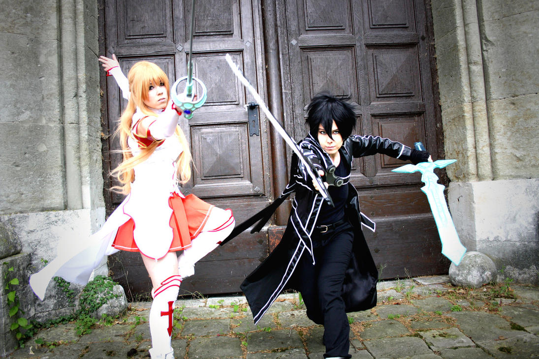Sword Art Online - Asuna and Kirito Cosplay by K-I-M-I on ...