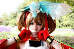 Sword Art Online Silica Cosplay - Don't cry