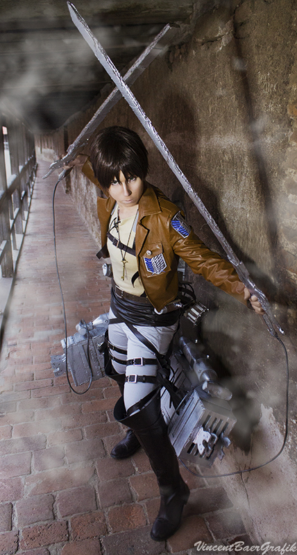 Eren Jaeger - Attack on Titan Cosplay by K-I-M-I on DeviantArt