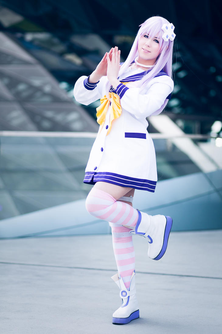 neptune cosplay neptunia Hyperdimension