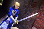 Fate Zero - Saber Cosplay