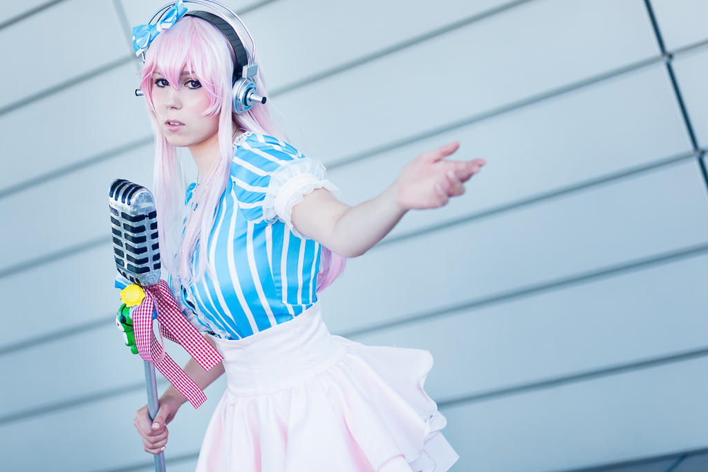 Sonipro - Super Sonico Cosplay by K-I-M-I