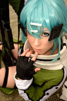 Sinon Gun Gale Online Cosplay by K-I-M-I