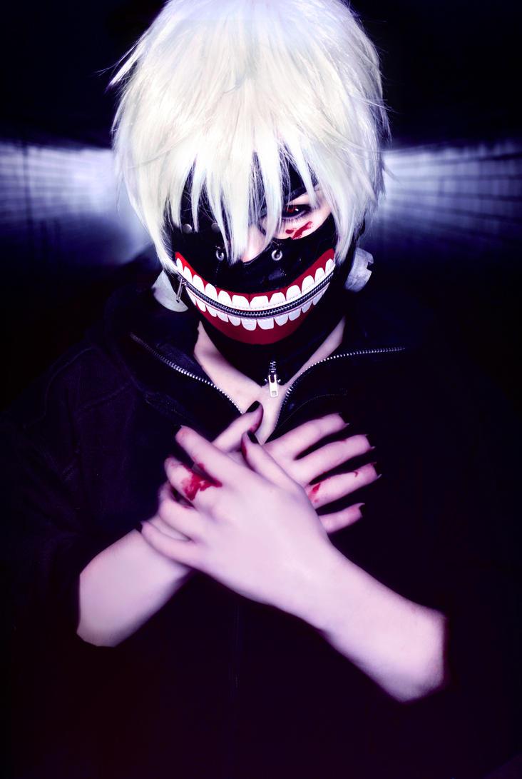 Ken Kaneki - Tokyo Ghoul Cosplay by K-I-M-I