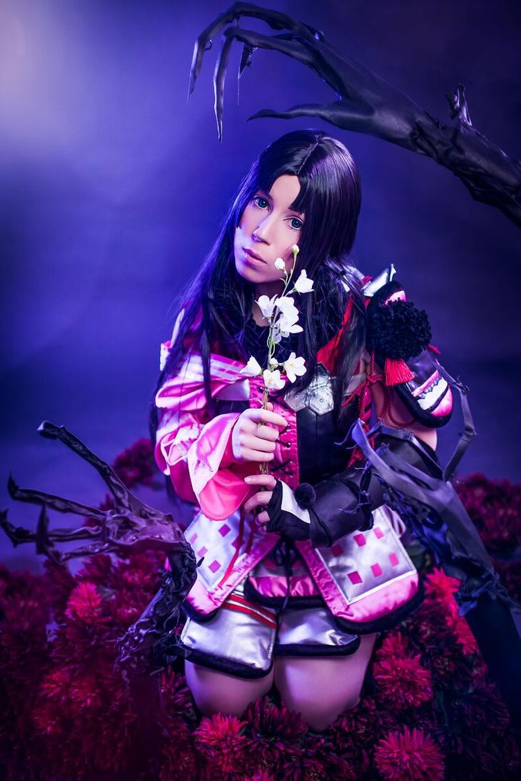 Oichi Oda - Sengoku Basara Cosplay by K-I-M-I