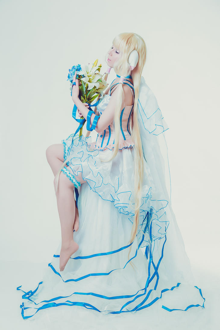 Chobits Chii Artbook Your Eyes Only Clamp Cosplay by K-I-M-I