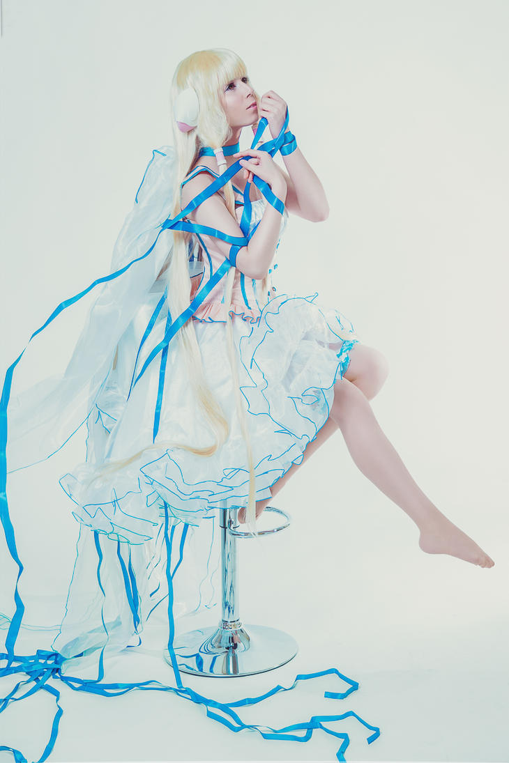 CHOBITS Chii Cosplay by K-I-M-I