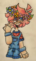 .:In The Garden:. {May 1} [flower crown] by BonnieTheBunny8479