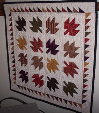 Maple Leaf Quilt by MN-Vixen