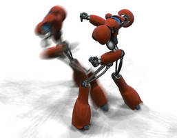 Dancing Robots by iraklisan