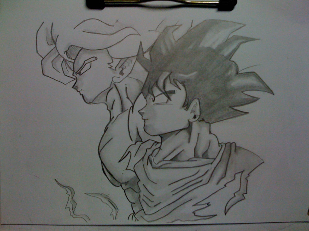 Simple Dragon Ball Pencil Draw By Naruto2312 On DeviantArt