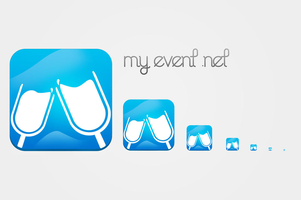 MyEvent.Net App icon by fReeDoM257