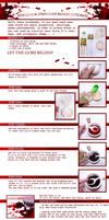 .5 steps fakeblood tutorial. by DasMeinUndDein