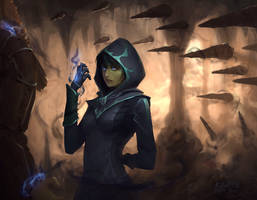 Character Art - Dark Mage